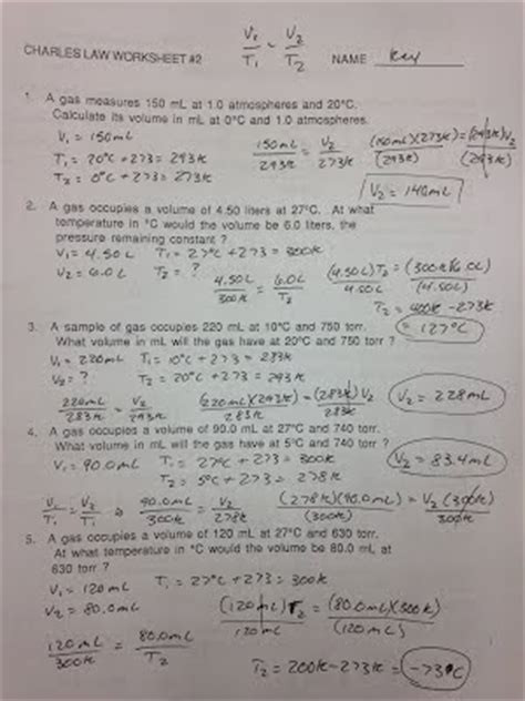 Boyle039s Law Worksheet Answers Download Boyle Law and Charles Answer Key Gratis Mobi