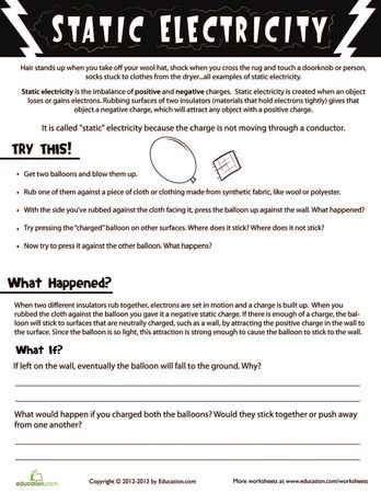 Charge and Electricity Worksheet Answers Energy Electricity and Magnetism Lessons Tes Teach