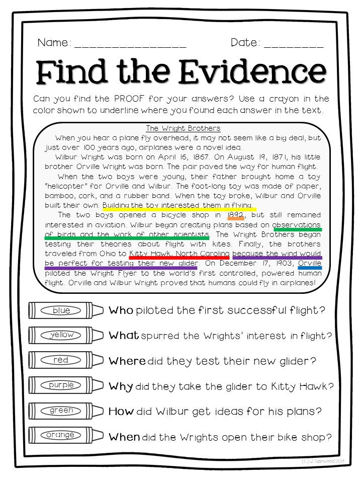 Cite Textual Evidence Worksheet Copy 4 5 Text Evidence Lessons Tes Teach
