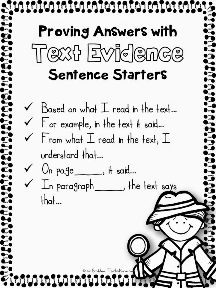 Cite Textual Evidence Worksheet Copy Citing Text Evidence Lessons Tes Teach
