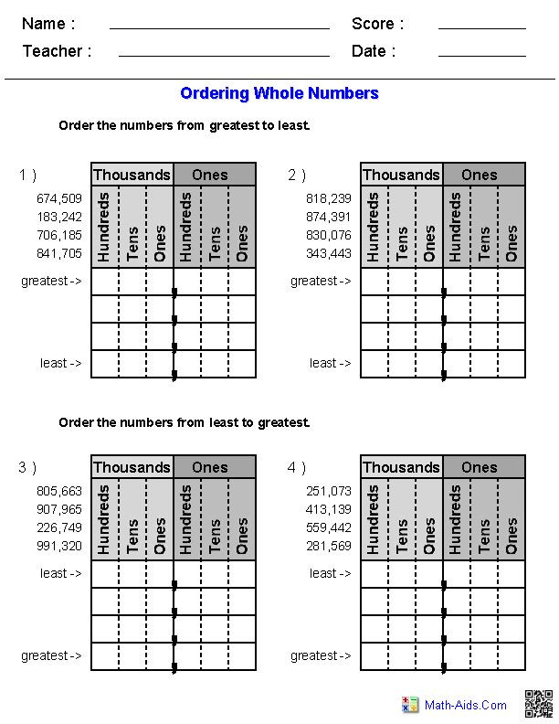 Comparing Rational Numbers Worksheet Pin On Worksheet