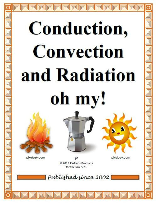 Conduction Convection and Radiation Worksheet Conduction Convection and Radiation Oh My