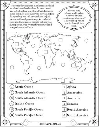 Continents and Oceans Worksheet Pdf Continents Of the World Free Printable Worksheets