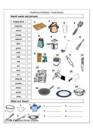 Cooking Worksheets for Middle School Kitchen Worksheets Free Google Search