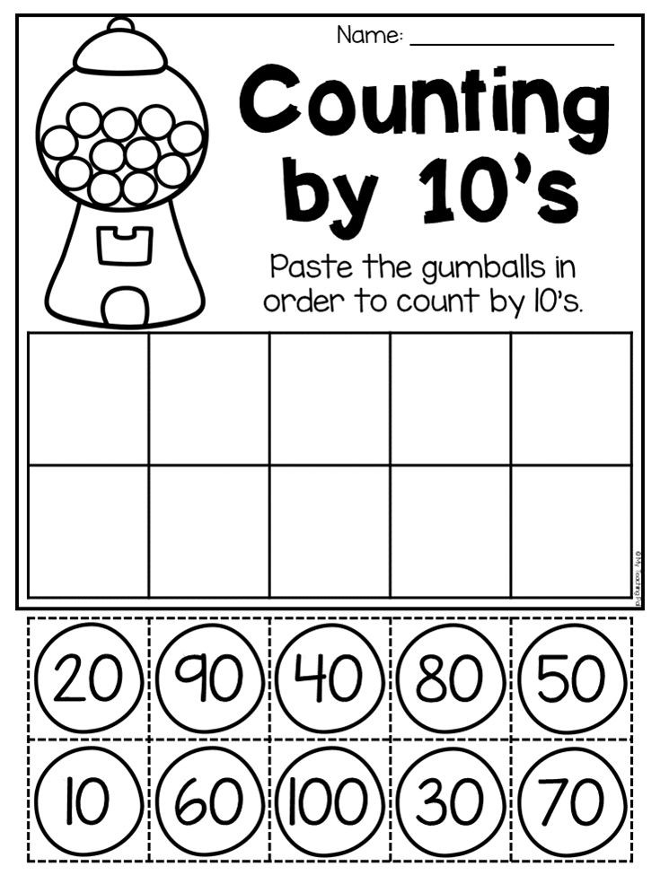 Counting by 10s Worksheet Pin On for Addison