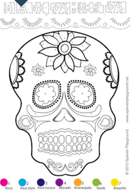 Dia De Los Muertos Worksheet 5 Free Day Of the Dead Printables to Honor Latino Traditions