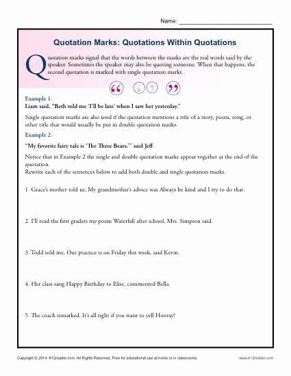 Dialogue Worksheets for Middle School Pin On Examples Printable Preschool Worksheets