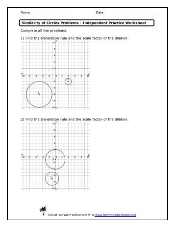 Dilations Worksheet Answer Key Dilations and Scale Factors Worksheet Answer Key Inducedfo
