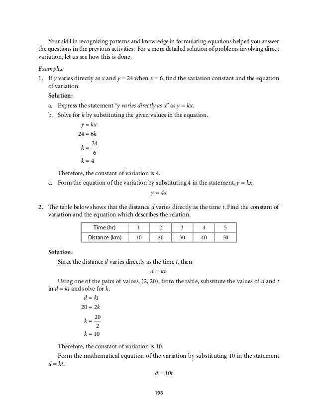 Direct Variation Worksheet with Answers 32 Direct Inverse and Joint Variation Worksheet Worksheet
