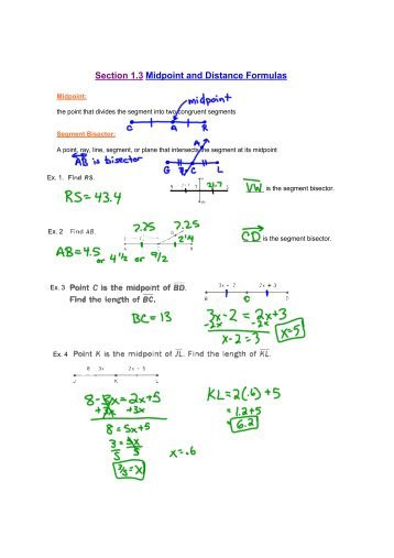 Distance and Midpoint Worksheet the Distance formula Worksheet Laveyla