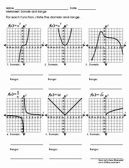 Domain and Range Worksheet Pin On Printable Chart and Graph Template