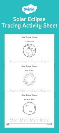 Eclipse Worksheets for Middle School 50 Best solar Eclipse Activity Images