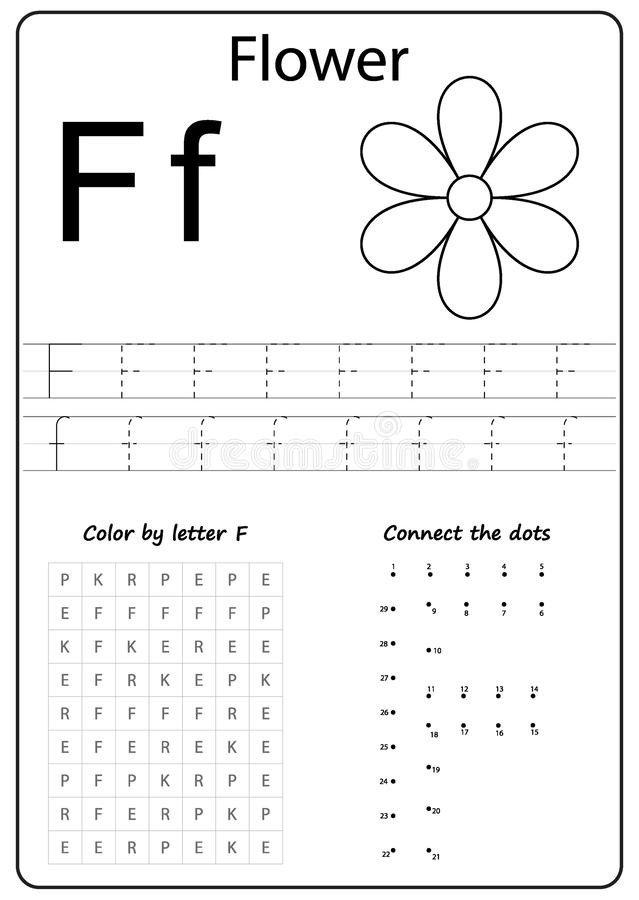F Worksheets for Preschool Writing Letter F Worksheet Writing A Z Alphabet
