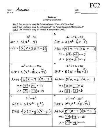 Factoring X2 Bx C Worksheet 30 Factoring X2 Bx C Worksheet Answers Worksheet Resource