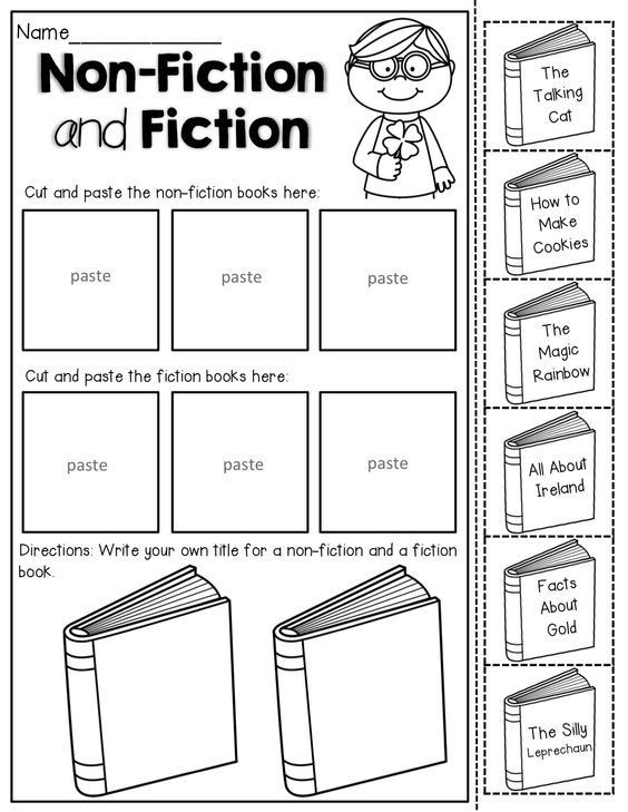 Fiction Vs Nonfiction Worksheet Image Result for Fiction and Nonfiction