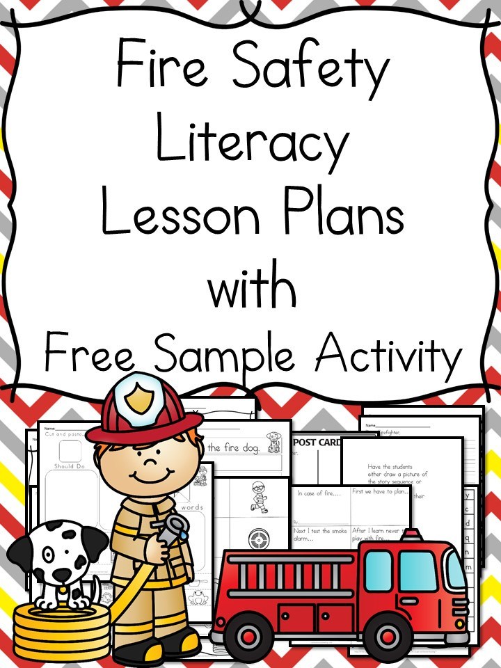 Fire Safety Worksheets Preschool Fire Safety Worksheets for Kindergarten with Book Ideas and More