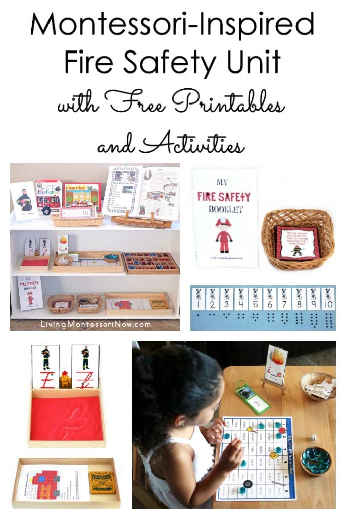 Fire Safety Worksheets Preschool Montessori Inspired Fire Safety Unit with Free Printables