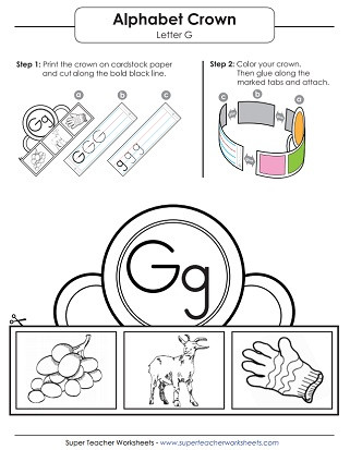 G Worksheets for Preschool Letter G Worksheets Recognize Trace & Print