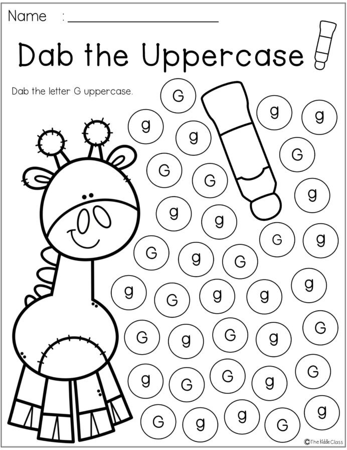 G Worksheets for Preschool Worksheet Amazing Handwriting Practice for Kindergarten