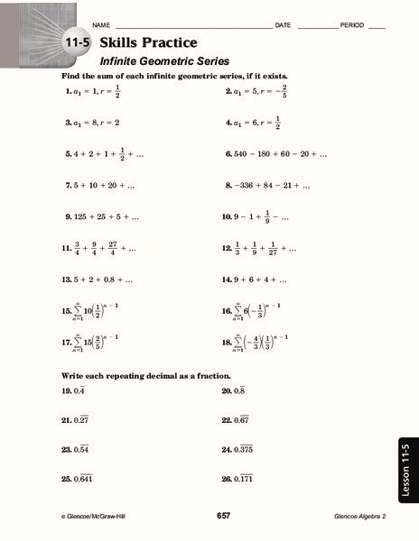 Geometric Sequence Practice Worksheet 30 Geometric Sequence Worksheet with Answers Worksheet