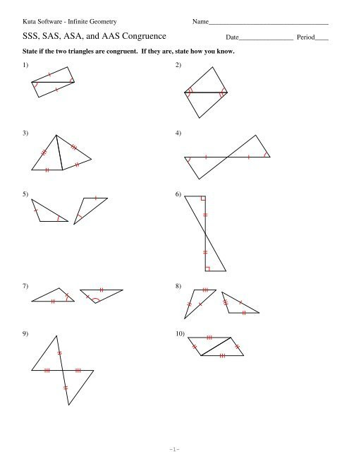 Geometry Worksheet Congruent Triangles Answers Sss Sas asa and Aas Congruence Worksheet