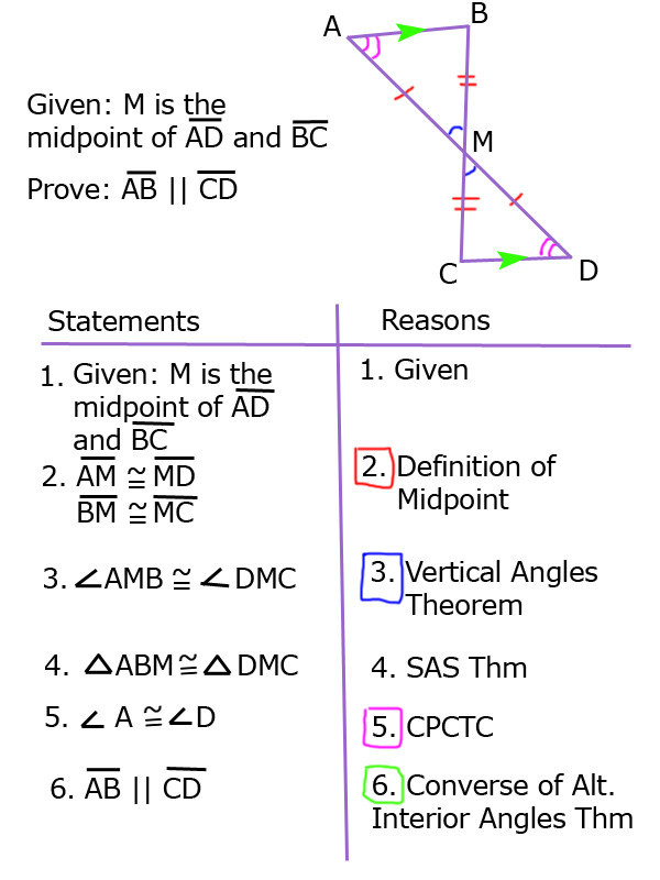Geometry Worksheet Congruent Triangles Vertical Angles theorem