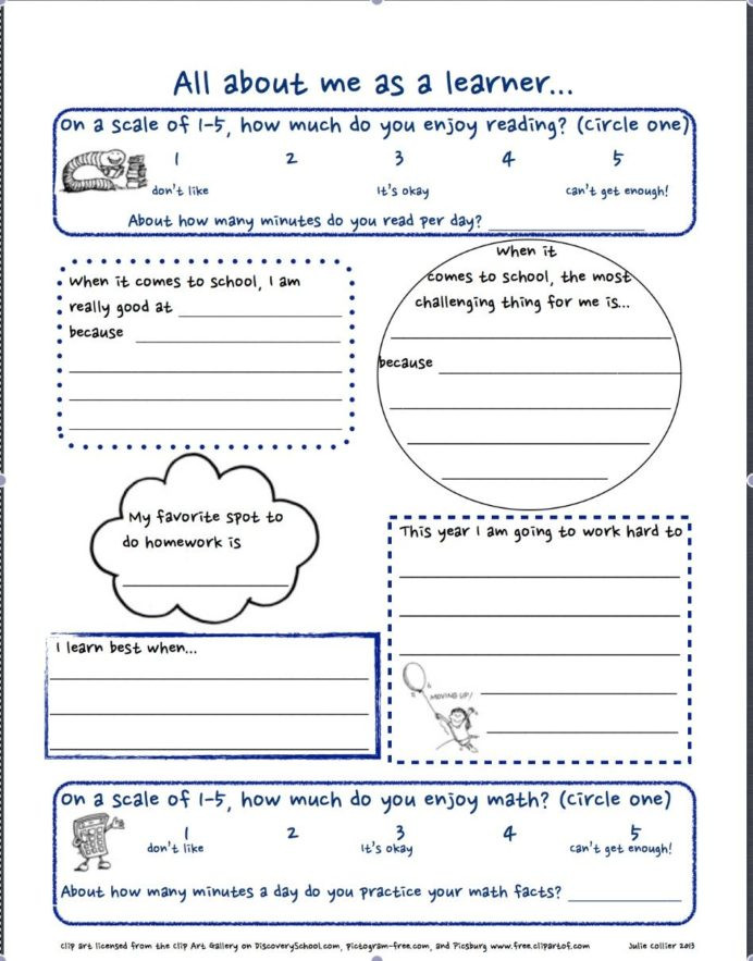 Getting to Know You Worksheet First Day School Worksheets Middle School Worksheets