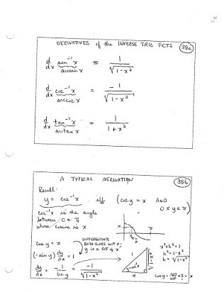 Graphing Trig Functions Worksheet Inverse Trig Functions Integration Homework solutions