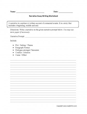 High School Essay Writing Worksheets 004 Essay Example Writing Worksheets High School Process