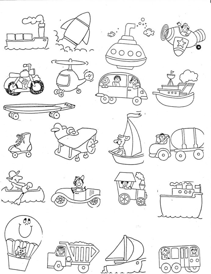 Homonym Worksheets Middle School Transportation Kindergarten My School Activities Math Games