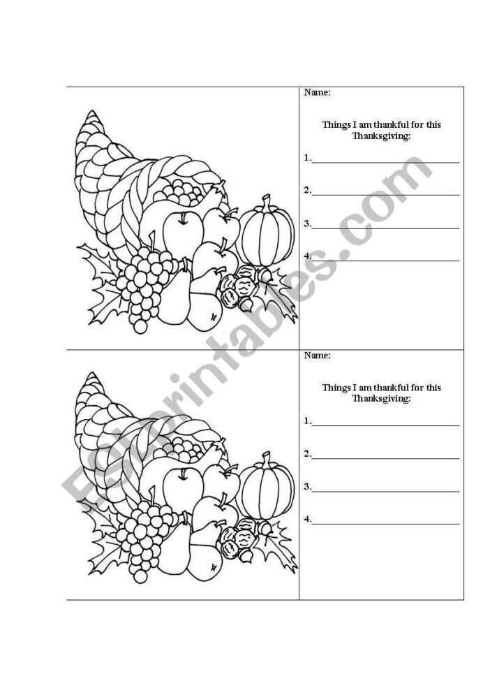 I Am Thankful for Worksheet Free Printable Thankful for Worksheet Designs Thanksgiving