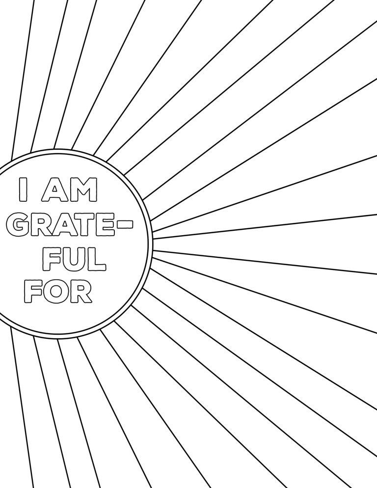 I Am Thankful for Worksheet I Am Thankful for Worksheet Free Printable In 2020