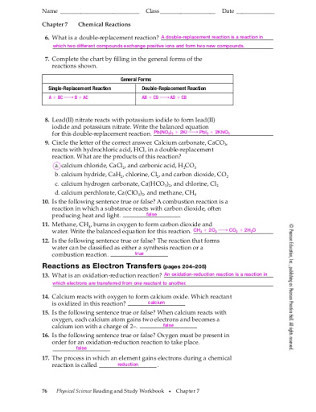 Introduction to Chemistry Worksheet Prentice Hall Chemistry Workbook Answer Key Chapter 11