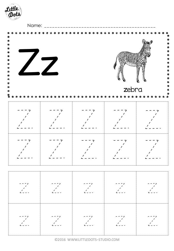 Letter H Tracing Worksheets Preschool A to Z