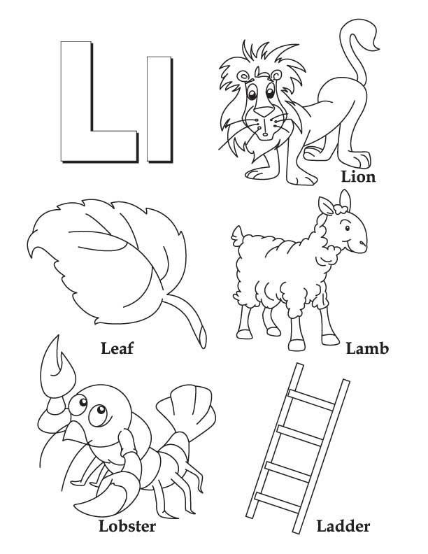 Letter L Worksheet for Preschool 28 [ L Worksheets ]