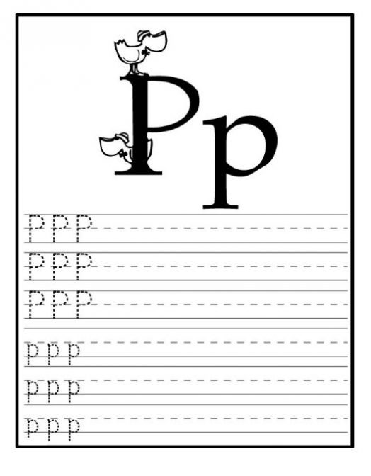 Letter P Preschool Worksheets Free Printable Letter P Worksheets for Kindergarten & Preschool