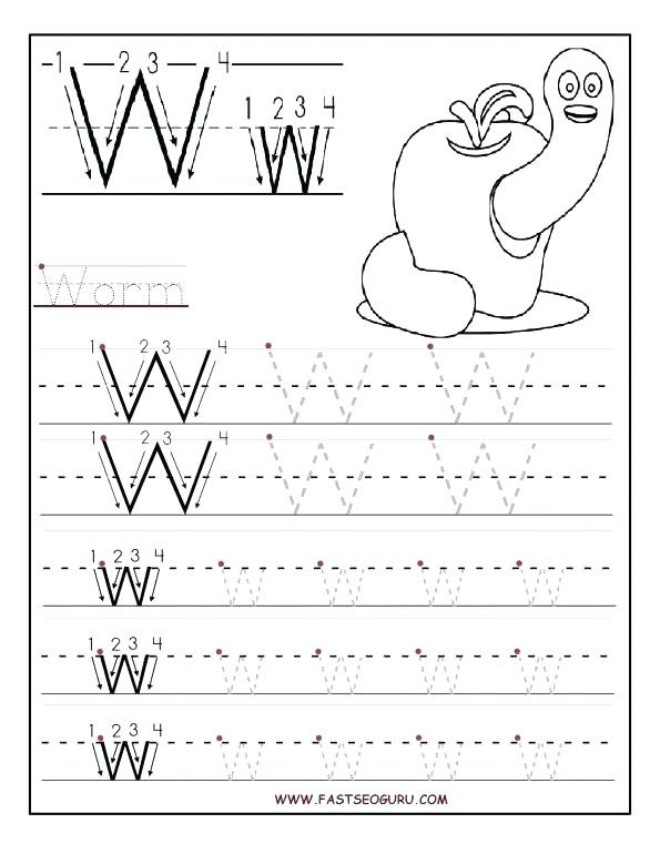 Letter W Worksheets for Preschoolers 13 Awesome Letter W Worksheets for You