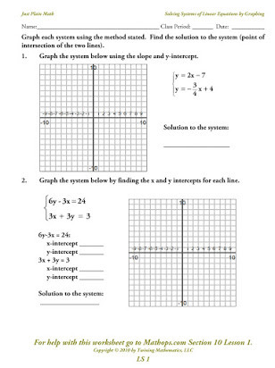 Linear Equations Worksheet with Answers Free Worksheets Graphing Linear Equations