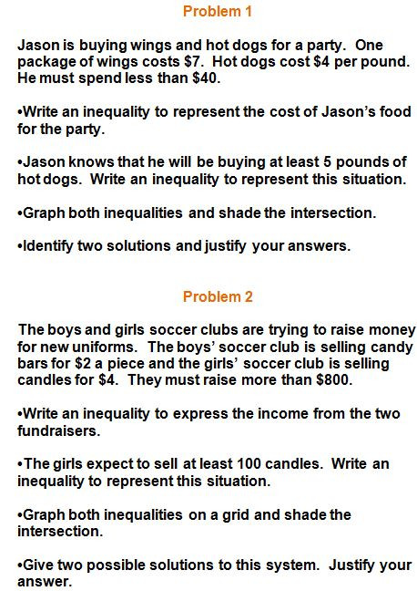 Linear Inequalities Word Problems Worksheet E Variable Inequalities Word Problems Worksheet Nidecmege