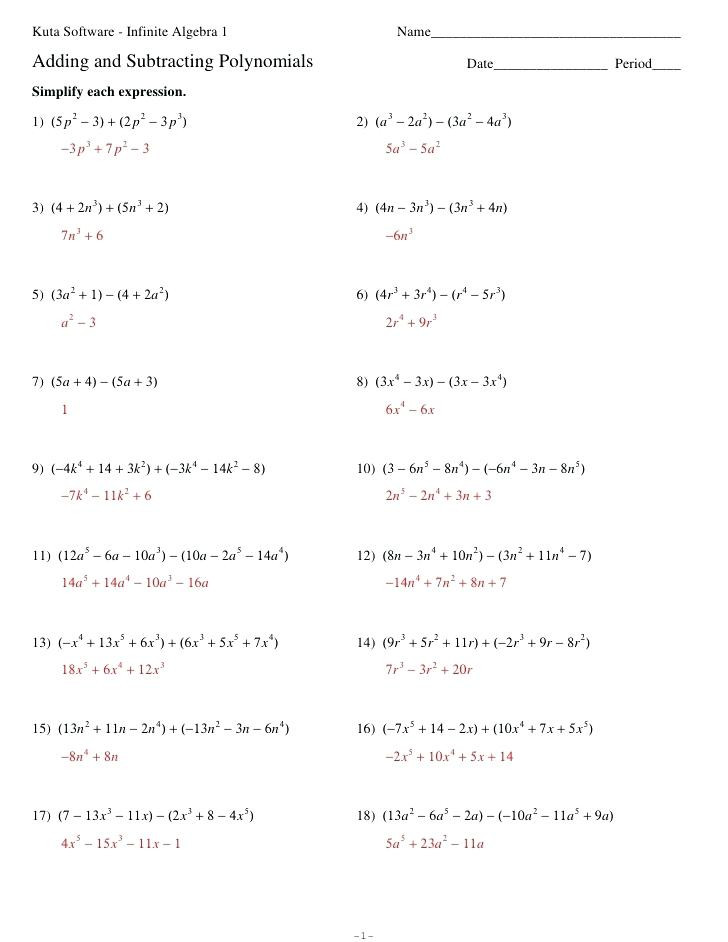 Long Division Of Polynomials Worksheet Division Polynomials Worksheet Nidecmege
