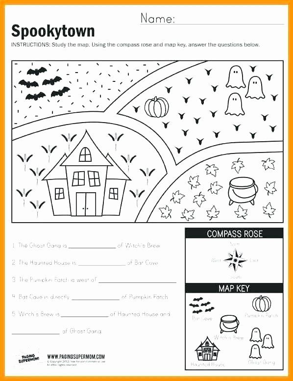 Map Skills Worksheets Middle School Pin On Examples Printable Preschool Worksheets