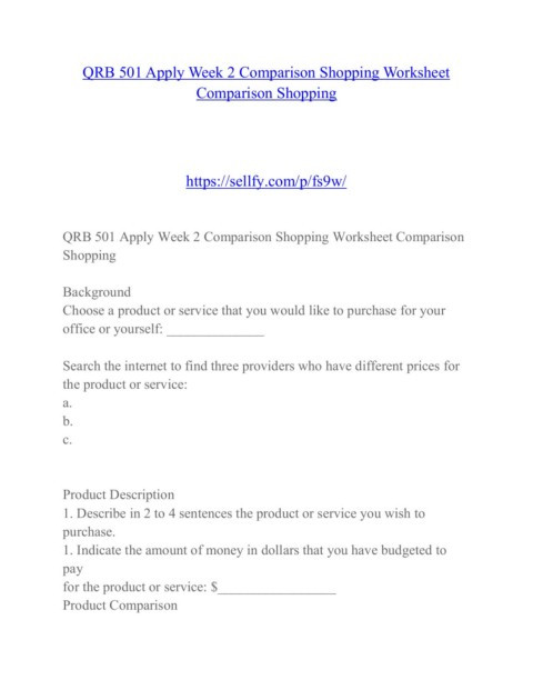 Markup and Discount Worksheet Qrb 501 Education Changes Sellfy Pages 1 50 Text