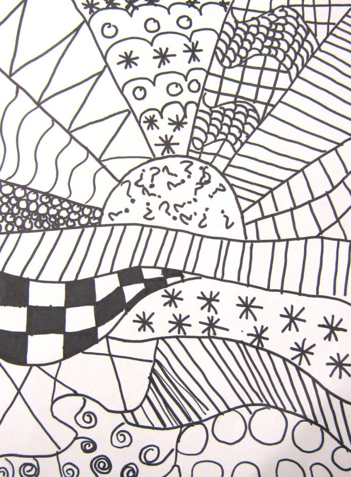 Middle School Art Worksheets Art In the Middle School Pattern Crazy First Week Lesson