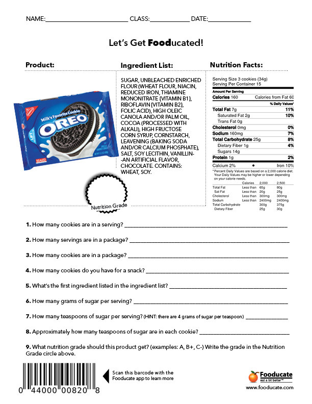 Middle School Health Worksheets Pdf Copy Nutrition Lessons Tes Teach