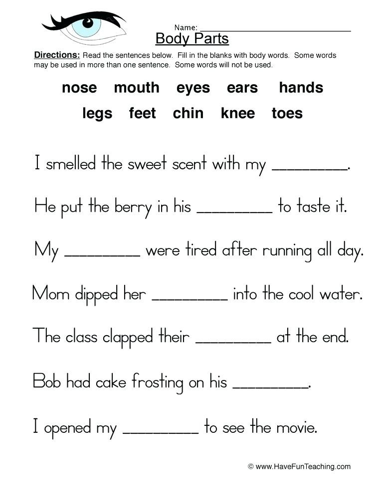 Middle School Health Worksheets Pdf Fifth Grade Health Worksheets – Dailycrazynews