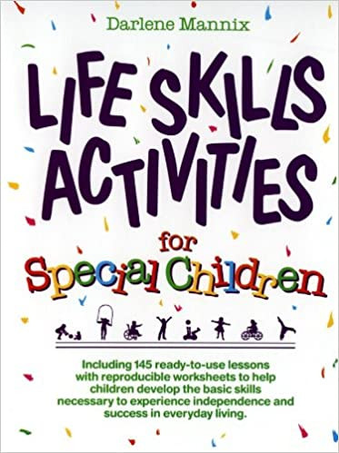 Middle School Life Skills Worksheets Amazon Life Skills Activities for Special Children