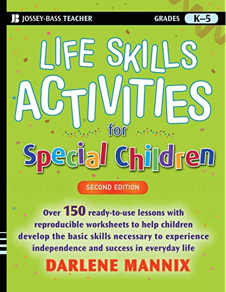 Middle School Life Skills Worksheets Life Skills Activities for Special Children 2nd Edition