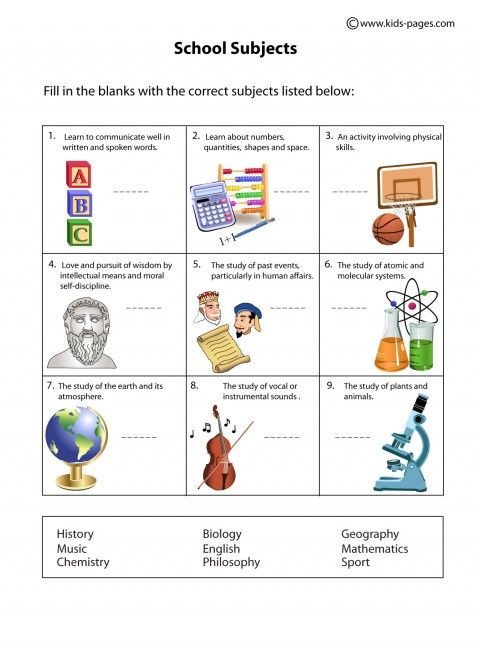 Middle School Science Worksheets Pdf School Subjects Worksheets