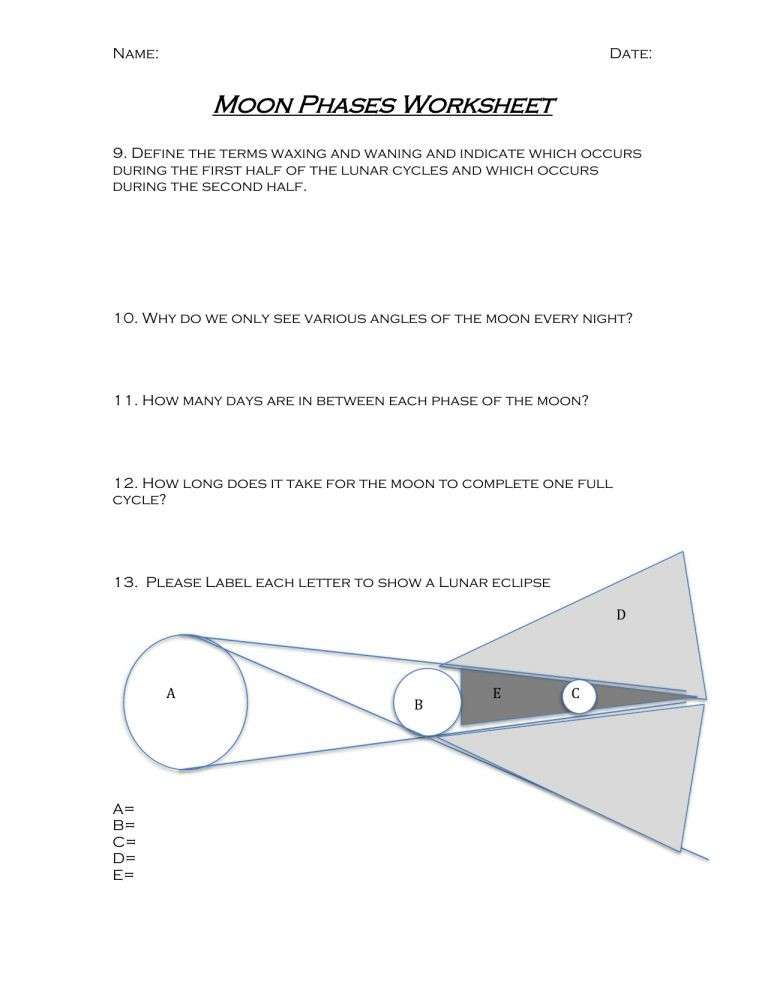Monohybrid Cross Worksheet Answers 11 Regents Earth Science Phases the Moon Worksheet