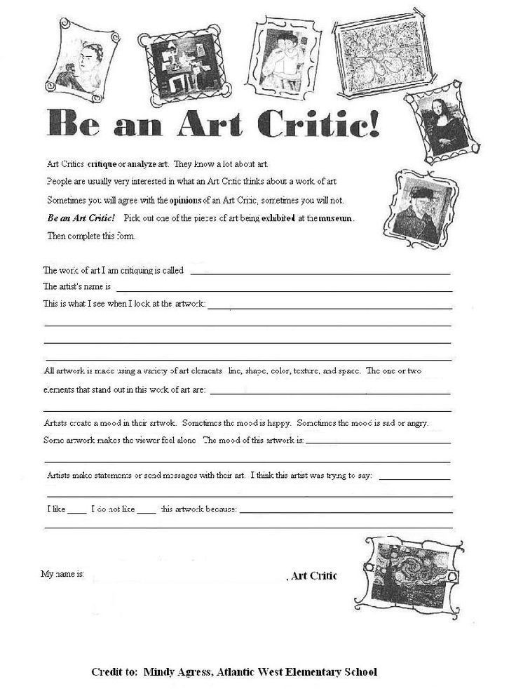 Mood Worksheets for Middle School Math Worksheet 1000 Images About Art forms and Printables